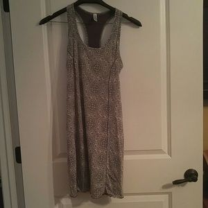 Soybu Gray Racerback Athletic Dress Size M